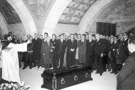 ENTIERRO DE JUAN MARCH ORDINAS , (13 DE MARZO DE 1962)