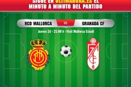 Así ha sido el Real Mallorca-Granada