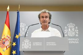 Simón ve complicada y preocupante la situación en Aragón y Cataluña