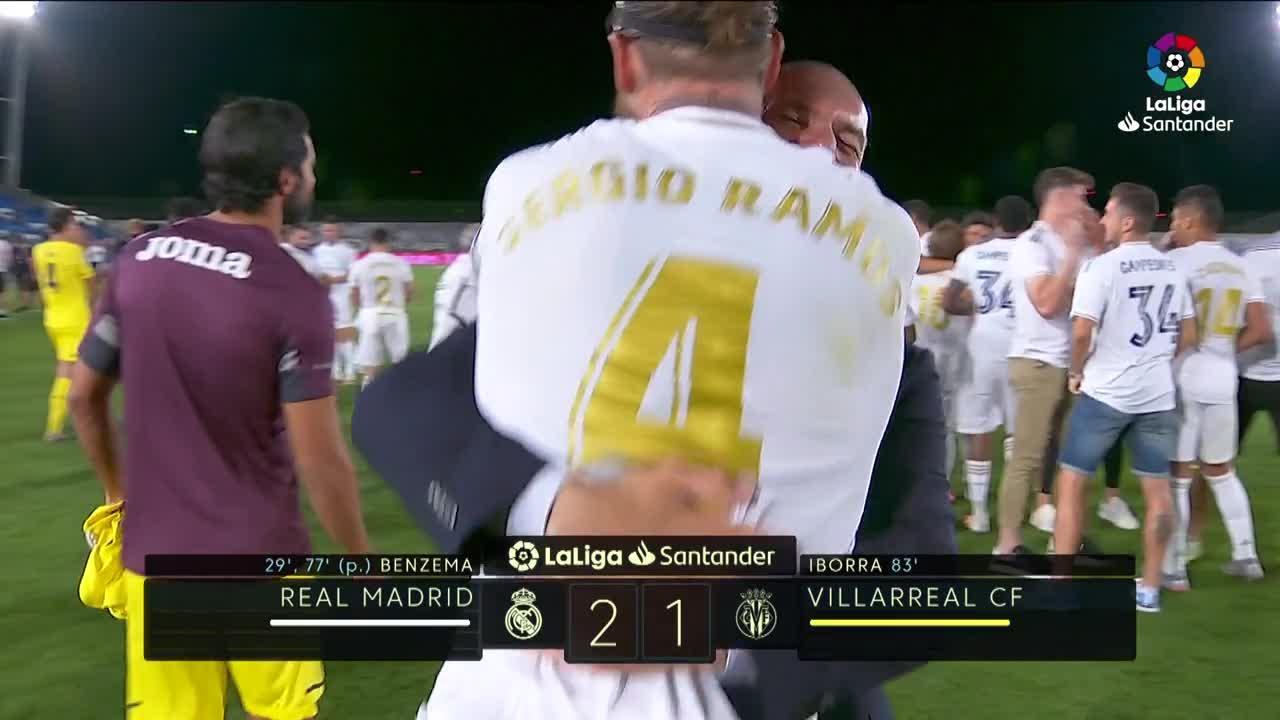 El Real Madrid suma su trigésimo cuarta Liga