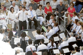 EIVISSA. MUSICA. CONCIERTO DE BANDA SIMFONICA CIUTAT D'EIVISSA