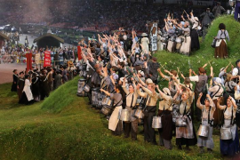Ceremonia inaugural de los Juegos Olímpicos de Londres 2012