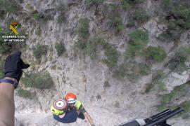 La Guardia Civil rescata a seis senderistas y una bañista en Mallorca en cinco días
