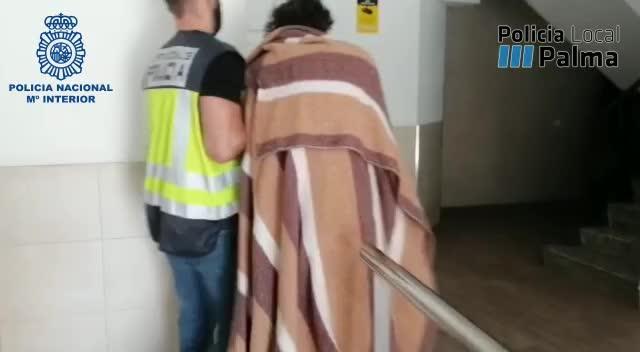 Detenido en Can Pastilla por tráfico de drogas