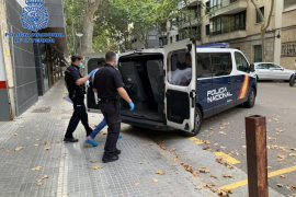 Detenido un hombre por dos robos con violencia en Palma