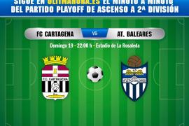 DIRECTO | Cartagena-Atlético Baleares