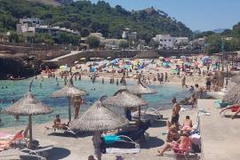 Aforo completo en algunas playas de Mallorca