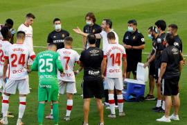 Vicente Moreno: «También se crece cuando las cosas no van tan bien»
