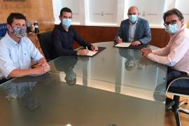 El Consell aportará 220.000 euros para el pavimento del pabellón de sa Pedrera