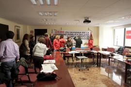 Las delegadas de CCOO abandonan la huelga de hambre