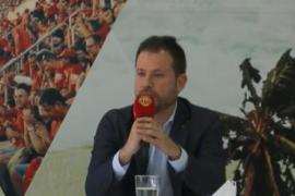 Ortells: «Vamos a dejarnos la vida para volver lo antes posible a Primera»