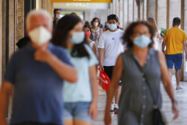Cerca de 200 infectados por coronavirus en Baleares no saben cómo se han contagiado