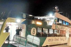 La barca entre Formentera e Ibiza de las 06.00 horas está ya operativa