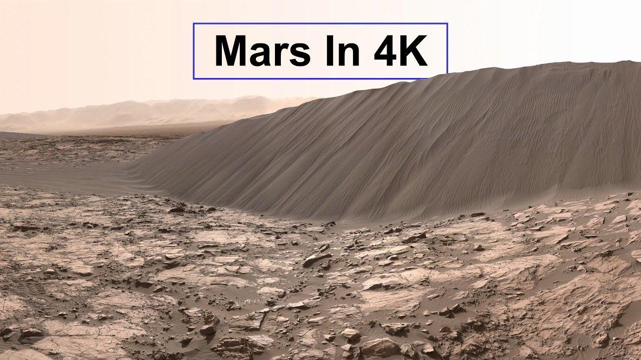 Marte en 4K