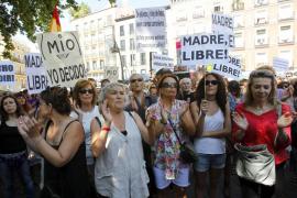 Movilización por el rechazo a la reforma de la Ley de interrupción voluntaria del embarazo