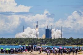 China realiza su primera tentativa sobre Marte