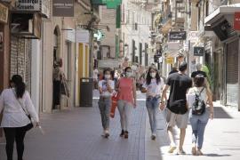 El comercio genera en Baleares 2.728 contratos, cerca de un 84 % más que en mayo