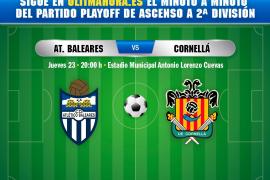 Así ha sido el Atlético Baleares-Cornellà