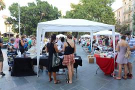 Palma celebra un participativo Sant Jordi estival y post COVID