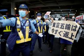 Protestas en la sede olímpica en Tokio mientras se registran 260 contagios
