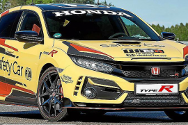 Honda Civic Type R Limited Edition, Safety Car en el Mundial de Turismos