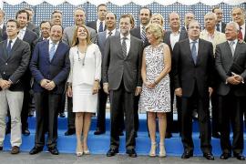 Los barones del PP prometen a Rajoy su apoyo para secundar su agenda de reformas