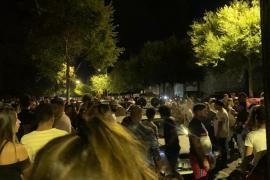 Centenares de jóvenes siguen con los botellones en los polígonos de Palma