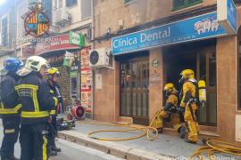 Incendio en una clínica dental del Arenal