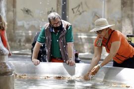 Mallorca alcanza los 38,5 °C