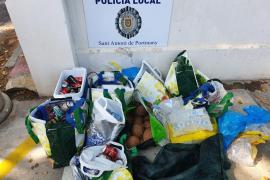 La Policía de Sant Antoni interpone cuatro denuncias por venta ambulante