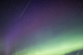 La espectacular imagen que muestra cuatro maravillas del cielo a la vez