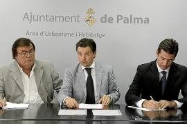 PALMA DEPORTES FIRMA CONVENIO SON MALFERIT FOTO JOAN TORRES