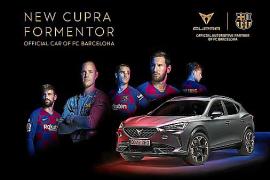 CUPRA Formentor, coche oficial del Barça