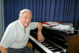 Joaquín Achúcarro recupera una pieza de Brahms para las Serenates d'Estiu
