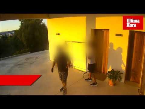 Una cámara 'caza' a dos jóvenes asaltando una casa en Sant Marçal