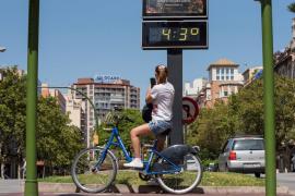 Palma supera los 40 grados, la temperatura más alta de julio desde 1983