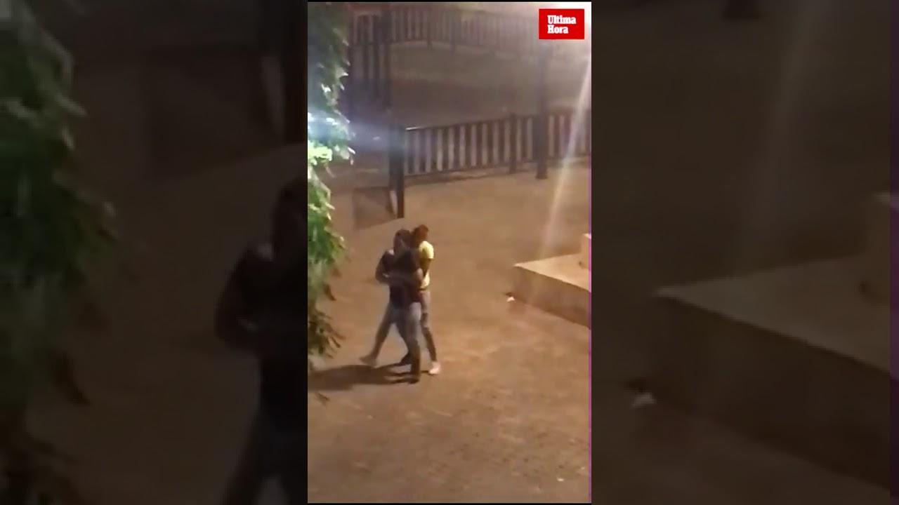 Denuncian botellones, sexo y droga en el parque frente a la Guardia Civil de Palma