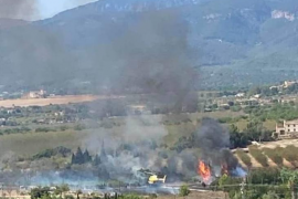 Incendio en Marratxí