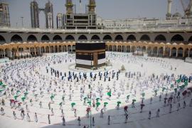 Comienza la peregrinación a La Meca menos concurrida a causa del coronavirus