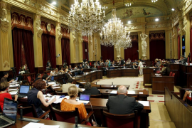 El Parlament se ahorrará alrededor de 1,3 millones de euros  al año con los recortes