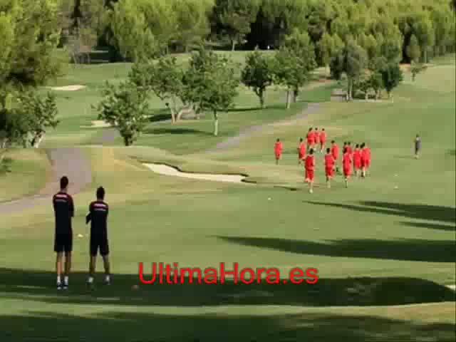 El Mallorca vuelve al trabajo en Palma tras la preparación de Holanda