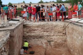 Hallan restos de víctimas de la Guerra Civil en el cementerio de Son Coletes