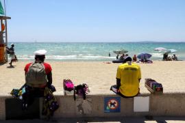 La Policía Local levanta en una noche 29 actas por infracciones en la Playa de Palma