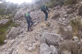 Rescate de dos excursionistas