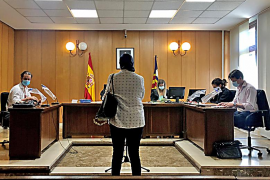 Condenada una mujer por acosar a su expareja en Palma