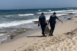 El misterio de la maleta plastificada hallada en Ibiza