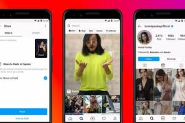 Instagram lanza Reels, una función para crear y publicar vídeos cortos