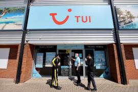 TUI amplía la suspensión de sus ofertas a Baleares