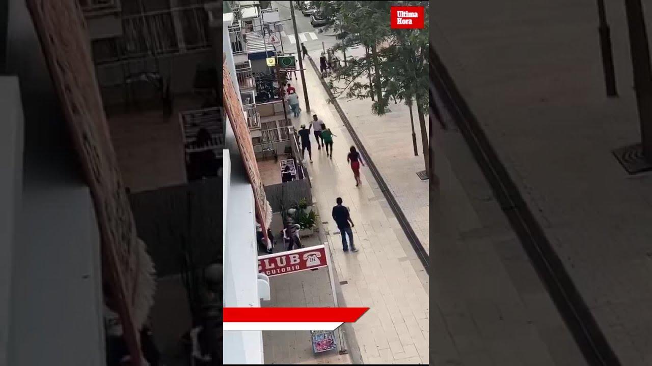 Una pelea con cuchillos en Cala Millor se salda con tres detenidos