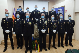 Nueve subinspectores de la Policía Nacional juran sus cargos en un acto en Palma